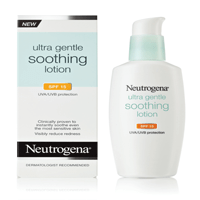 Ultra Gentle Soothing Lotion SPF 15